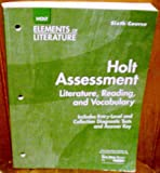 Elements of Literature, Holt, Rinehart and Winston Staff, 0030685249
