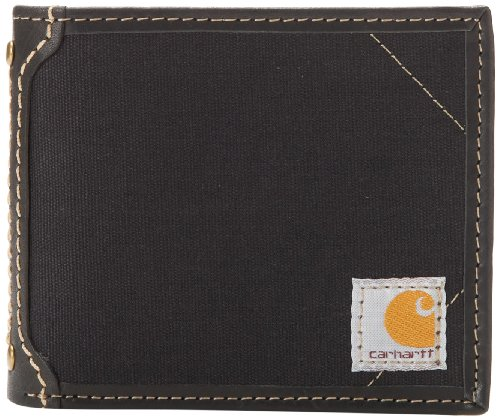 Carhartt Men's Billfold Wallet, Black, One Size