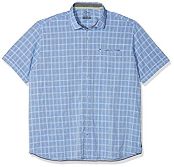 15.806.22.2212, Camisa Casual para Hombre, Blau (Royal Blue 55n6), XXXL s.Oliver