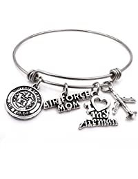 US Military Mom/Wife Charm Bracelets