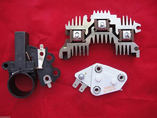 22SI Delco Remy Alternator Repair Kit, rectifier, brush holder, regulator 1 wire