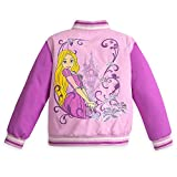 Disney Rapunzel Varsity Jacket for Girls - Tangled - Purple