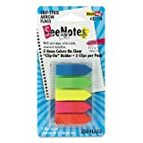 Redi-Tag 32118 SeeNotes Transparent Film Arrow Flags, Asstd Colors, 5 Pads of 50 Flags/Pack, Office Central