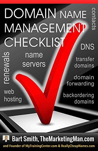 Domain Name Management Checklist