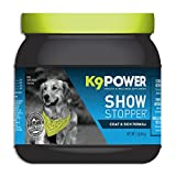 K9-Power Show Stopper - Healthy Dog Coat and Skin Formula to Improve Health and Appearance - 1 Pound