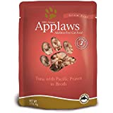 Applaws Cat Pouch 2.4oz Tuna with Pacific Prawn-  12 Pack