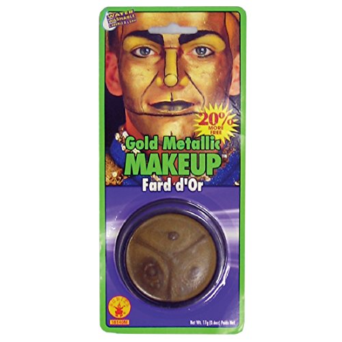 Metallic Grease Paint (Silver) Halloween Makeup Accessory by Rubie????s