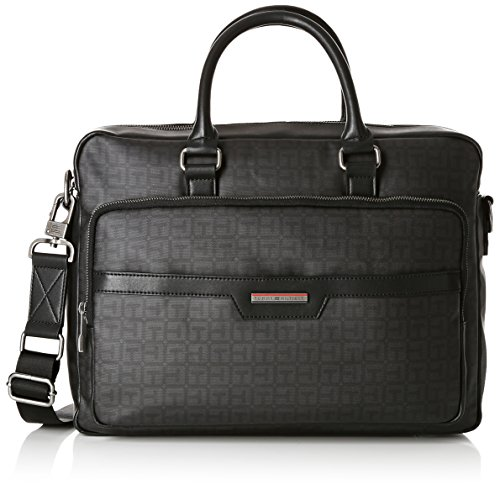 hombre Work Bag Cc Logo Hilfiger Tommy Negro Story accesorios ideal para nwq7zTTH