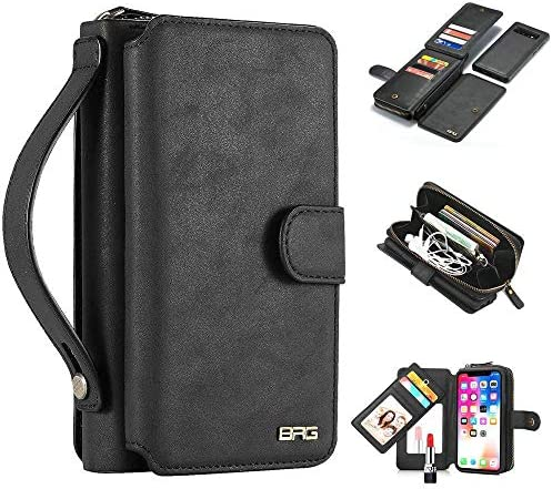 ギャラクシーS10/S10+ 財布型 ハンドバッグ カード収納 大容量 ハンドベルト付き お財布一体型 ウォレットケース Gal