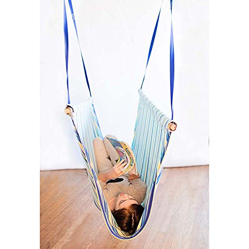 Canvas Sling Swing – Full Body Swing for Vestibular Activities, Sensory Integration, Reading and Relaxing – Ages 3+ by Fun and Function