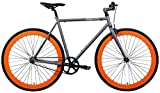 AeroFix Classic 54cm Fixed Gear Single Speed Urban Fixie Road Bike