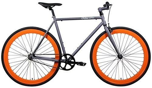 AeroFix Classic 54cm Fixed Gear Single Speed Urban Fixie Road Bike ...