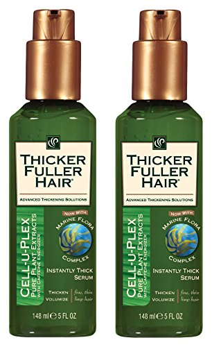 (Thicker Fuller Hair Instantly Thick Serum, (pack of 2))