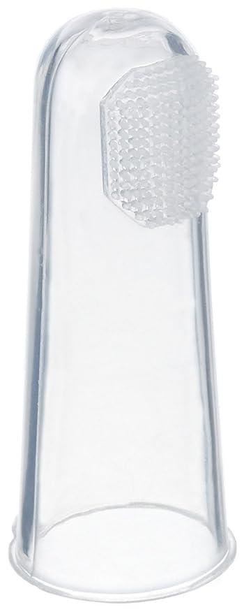 Reer 7901 - Cepillo de dientes de dedo, fabricado en silicona
