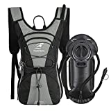 Hydration Pack Backpack Lightweight with 2.5L Leak-Proof Water Bladder, Keep Liquids Cool
