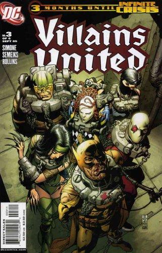 (Villains United #3 VF/NM ; DC comic book)