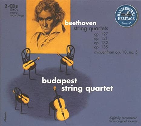 Beethoven: String Quartets Opp. 127, 131, 132 & 135