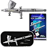Master Airbrush Model G44 High Precision Detail Control Dual-Action Gravity F...