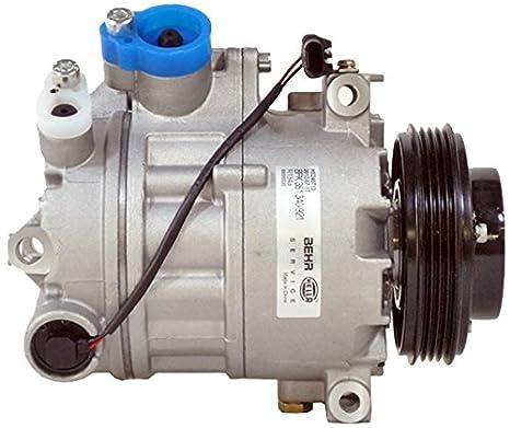 BEHR HELLA SERVICE 8FK 351 340-921 Compresor, aire acondicionado: Amazon.es: Coche y moto