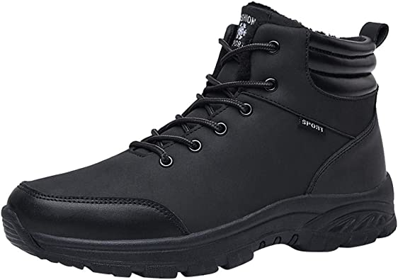RQWEIN Steel Toe Shoes Breathable Sneakers Construction Working Shoes for Hiking Trail Tennis Work Safety Shoes for Men
