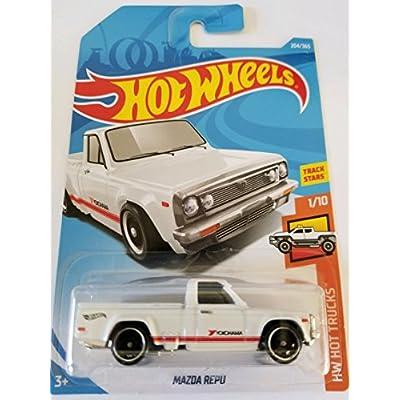 Hot Wheels 2020 50th Anniversary HW Hot Trucks Mazda Repu 204/365, White: Toys & Games