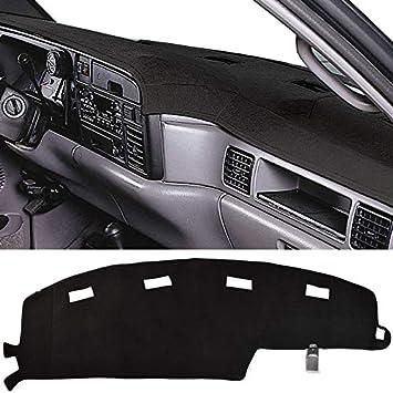 MR-045 JIAKANUO Auto Car Dashboard Carpet Dash Board Cover Mat Fit for Dodge RAM 1500 2500 3500 1994-1997 RAM 94-97, Gray