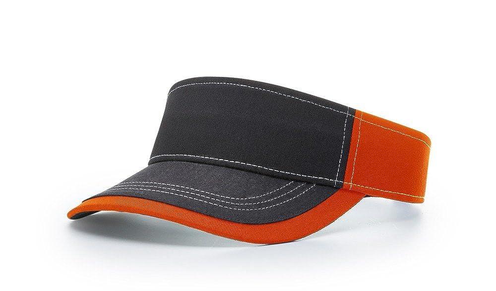 Richardson 775 Charcoal Front Blank OSFA Sun Visor Adjustable Cap