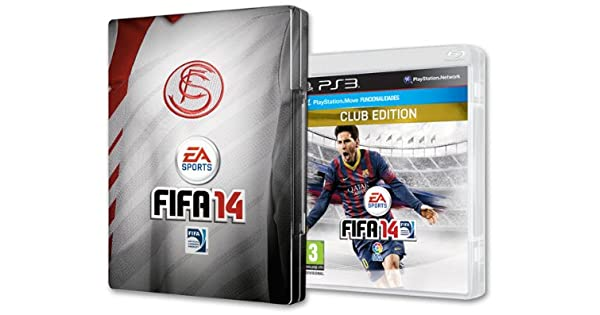 FIFA 14 - Xmas Club Edition: Sevilla FC: sony playstation3: Amazon ...