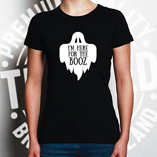 Womens Funny Halloween Tee I'm Blue Here for Booz The Joke fHZ5Hqw
