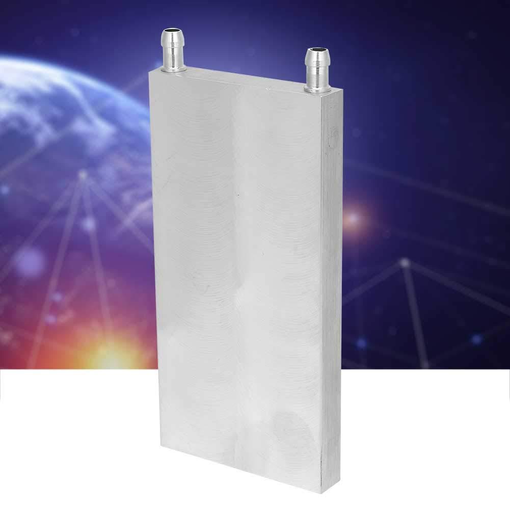 8016015mm for PC Computer CPU Graphics Radiator Heatsink Endothermic Head Aluminum Water Cooling Block