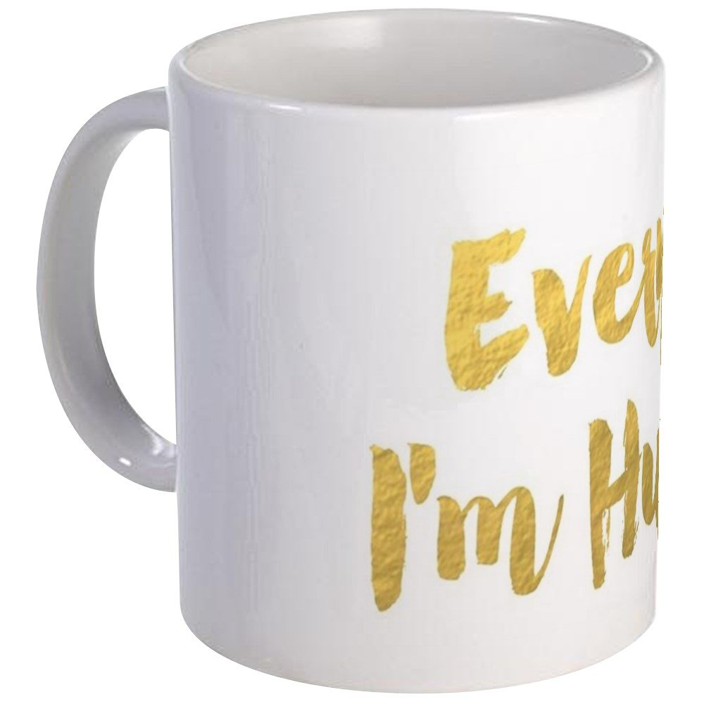 CafePress - Everyday I'm Hustling Mug - Unique Coffee Mug, Coffee Cup