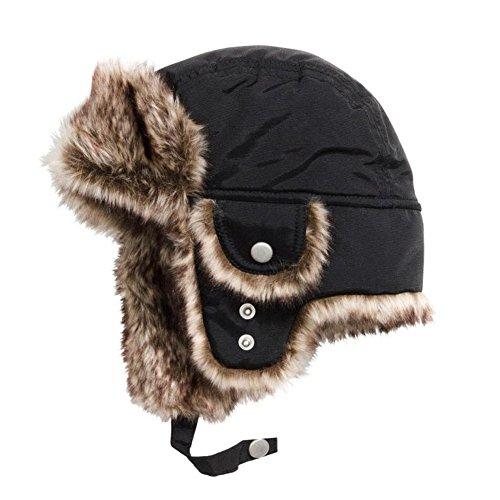 Boys Winter Hats Big Kids Nylon Russian/Aviator Winter Earflap (Big Boy Hats)