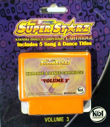 body-groovz-super-starz-karaoke-dance-cartridge-volume-3