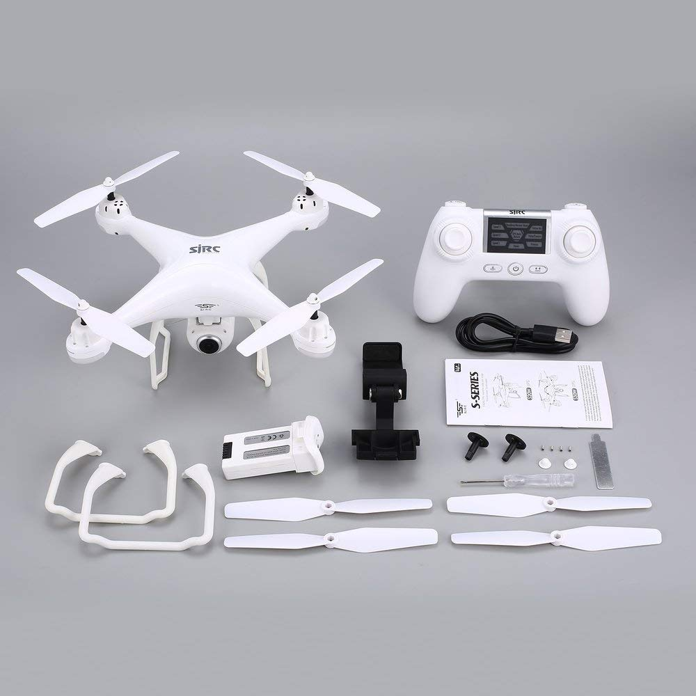 SJ R / C S20W FPV 720 P Kamera Selfie Höhe Halten Drohne Headless Modus Auto Return Start / Landung Hover GPS RC Quadcopter