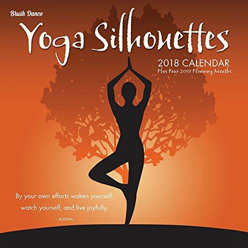 Yoga Silhouettes 2018 Wall Calendar