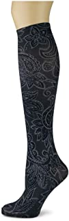 product image for Sox Trot LIZBETH II/SMOKE - Printed Nylon Knee-Hi's