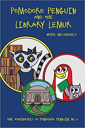 Pomodoro Penguin and the Library Lemur (Adventures of