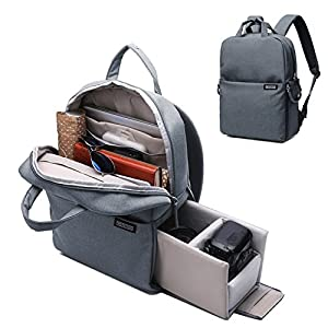 Camera Backpack DSLR/SLR Camera Bag Multifunction Travel Outdoor Waterproof Tablet Laptop Bag for Sony Canon Nikon