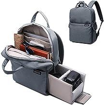 CADeN Camera Backpack DSLR/SLR Camera Bag Multifunction Travel Outdoor Waterproof Tablet Laptop Bag for Sony Canon Nikon