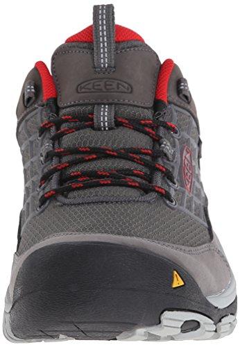KEEN Men's Saltzman Waterproof Hiking Shoe Magnet/Racing Red discounts cheap online amazon for sale cheap 2014 new cheap sale amazon PtQOInvlMK