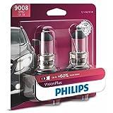 Philips H13 Lámpara delantera Premium Vision Plus, paquete de 2