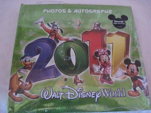 Disney Green 2011 Autograph & Photo Album (Disney Photo Album 2011)