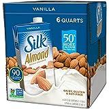 Silk Pure Almond Vanilla, 32-Ounce (Pack of 6)