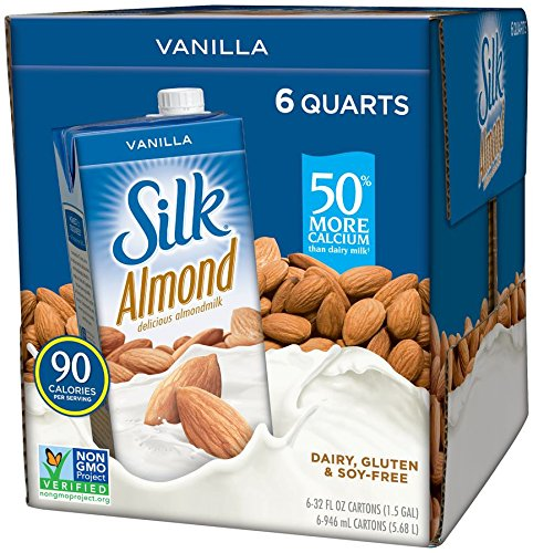 3. Silk Pure Almond Vanilla