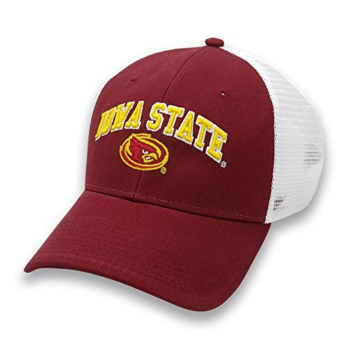 Iowa State Cyclones Game - NCAA Iowa State Cyclones Adult The Game Everyday Trucker Mesh Hat, Adjustable, Cardinal