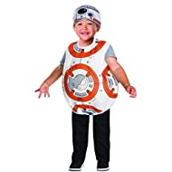 Rubie's Costume Star Wars VII: The Force Awakens BB-8 Costume, Multicolor, 2T