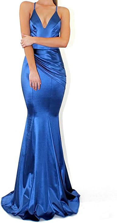 Vestiti Eleganti Lunghi Da Sera.Surfiiy Vestiti Donna Eleganti Lunghi Da Sera Abito Sirena
