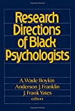 img - for Research Directions of Black Psychologists book / textbook / text book