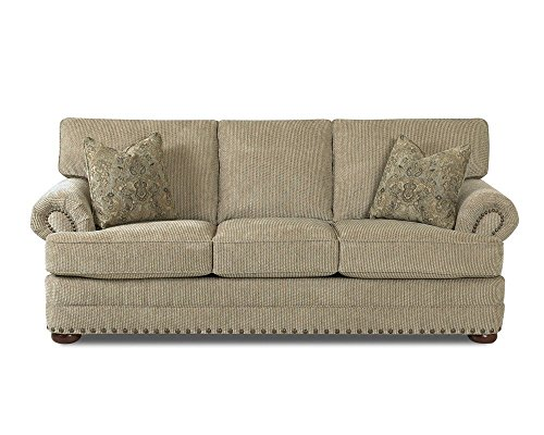 Klaussner CLIFFSIDE Sofa, Platinum