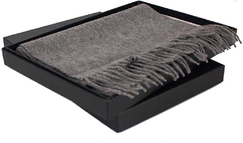 VITryst Mens With Fringe Scarves Thick Warm Striped Scarf with Gift Box